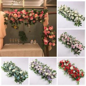 Wedding Flower Wall Arrangement Supplies Silk Artificial Flower Decoration