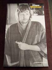 "HARRY NILSSON ""SCHMILSSON"" RCA PROMO POSTER 1971 DEAD STOCK 20 1/4"" x 33"" ROCK"