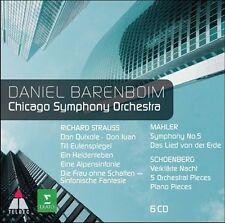 Chicago Symphony Orchestra & Barenboim Play Straus, New Music