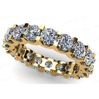 Memory Diamant Brillant Ring 1.00 ct IF-SI1 D-H 18K 750 Gelbgold Alle Ringgrößen