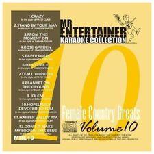 Mr Entertainer Karaoke MRE10  Female Country Greats  CDG