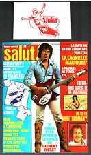 SALUT n°61 # 1978 # LAURENT VOULZY - AVEC CADEAU TRANSFERT SKATE BOARD INCLUS