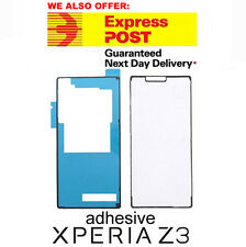 Sony Xperia Z3 L55 D6603 LCD Plate and Battery Back Cover housing Adhesive Set