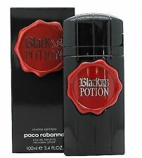 Black XS Potion by Paco Rabanne 100ml EDT Spray Men Perfume 100 Authentic