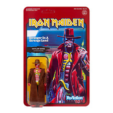 """IRON MAIDEN - Outlaw Eddie Action Figure Toy ReAction 3.75"""" Collectable"""