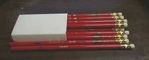 One Dozen 12 Vintage 80's JR Moon Moonbeams Pencils Scribble 'n Sniff Rose Scent
