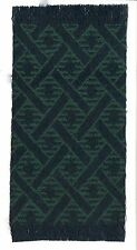 Dollhouse Miniature Woven Accent Rug in Blue & Green  ~ HWRSZ12