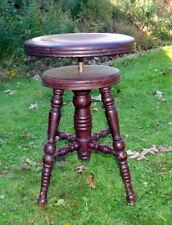 Vintage Piano Stool / Vanity Chair