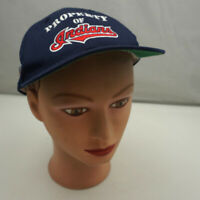 Cleveland Indians Hat Kids Blue Stitched Snapback Baseball Cap Pre-Owned ST20