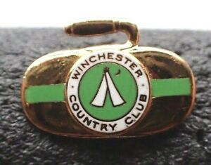 Vintage Curling Club Pin - Winchester Country Club