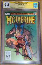 Wolverine Limited Series #4 CGC 9.4 Signed by Chris Claremont