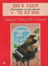 John W Schaum Piano Course-IL LIBRO ROSSO-imparare a giocare insegnamento principianti