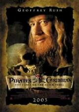 PIRATES OF THE CARIBBEAN ~ CURSE BLACK PEARL GEOFFREY RUSH 27x39 MOVIE POSTER