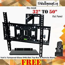 "Imported LCD / LED TV Wall Mount Bracket Corner Swivel 32"" 40"" 42"" 46"" 52""  55"""