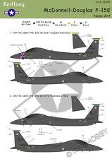 Bestfong Decal 1/32 McDonnell Douglas F-15E USAF