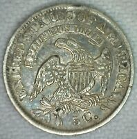1835 US Half Dime Silver Capped Bust Extra Fine US Type Coin