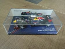 MINICHAMPS 1:43 RED BULL RB9 S. VETTEL WORLD CHAMPION 2013 INDIAN GP 1512 PCS