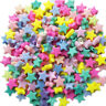 Mix Lots Colorful Acrylic Star Bead For Hairband Bracelets Jewelry Diy