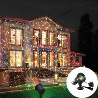 Laser Projector Landscape Led Light Outdoor Lamp Christmas Xmas Moving Star