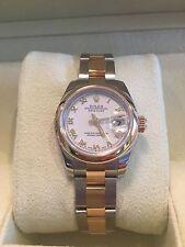 Rolex Datejust 18K & Steel * Retail $8,100 * #179163 * 26MM 100% Genuine, 2007