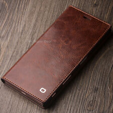 Mobile Phone of Leather Pouch Case Cover Flip Back Smartphone Accessories Brown Sony Xperia Z5
