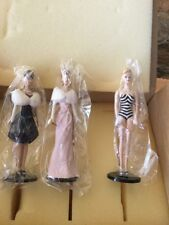 BARBIE DOLL~1995 Ashton Drake~Heirloom Ornament Club~Classic Figure Set~NEW MIB