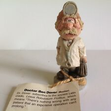 Spit 'N' Whittle, Inc. Local Yokels Doctor Ben Dover Figurine With Tag