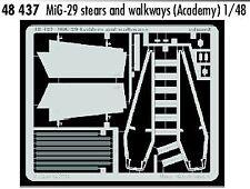 Eduard 1/48 MiG-29 stairs and walkways # 48437
