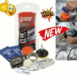 Car Headlight Lens Restoration System Professional Restorer Polishing Tool Kit A