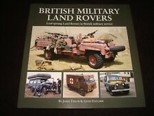 BRITISH MILITARY LAND ROVERS LEAF-SPRUNG TAYLOR & FLETCHER 2015 1st ED. H/B NEW