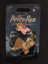 Peter Pan 65th Anniversary Nana And Michael Pin