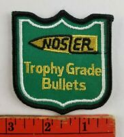 Vintage Nosler Trophy Grade Bullets Shooting Patch