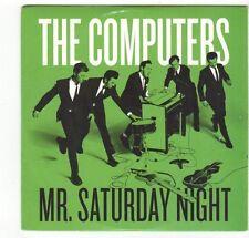 (EZ494) The Computers, Mr Saturday Night - 2013 DJ CD