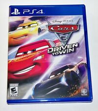 Replacement Case (NO GAME) Cars 3 Driven to Win Playstation 4 PS4 Box