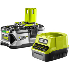 RYOBI ONE+ 18V 4.0Ah Battery & Fast Charger Pack
