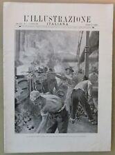 ILL. ITALIANA - N. 7/ 1902 - SCIOPERO GASISTI TORINO