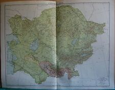 1919 LARGE MAP- CENTRAL ASIA
