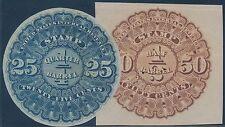 #REA3-4 BEER STAMPS 25¢ & 50¢ BS6486