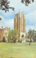 Oklahoma City OK~University Campus~Main Building~1952 Postcard