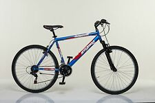 """Bicicletta MTB AMMORTIZZATA STUCCHI S595  26"""" acciaio shimano 18 V Mountain Bike"""