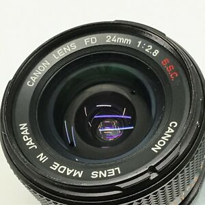 Canon FD 24mm f2.8 S.S.C. SSC Wide Angle MF Lens from JAPAN - Excellent TK01Q