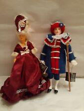 Vintage Peggy Nisbet Dolls, The Town Crier & Madame DuBarry