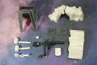 VINTAGE STAR WARS HOTH IMPERIAL ATTACK BASE PLAYSET PARTS KENNER ice wall bridge