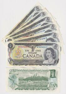Canada $1 (1973) - XF BANK NOTES