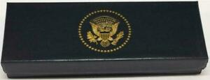 President Donald Trump White House Gift Black Lacquer Rollerball Pen POTUS Seal