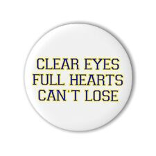 Friday Night Lights 25mm 1 Inch Button Badge Bag Quote Riggins Saracen Panthers