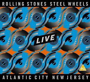 The Rolling Stones: Steel Wheels - Atlantic City, New Jersey - CD/DVD New