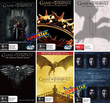 Game Of Thrones 1 - 6 : Complete Series - Season 1 2 3 4 5 6 : NEW DVD