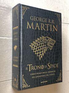 Martin IL TRONO DI SPADE cronache del  ghiaccio e del fuoco Libro 1 pelle drago