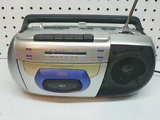 jWIN mini AM/FM cassette boombox